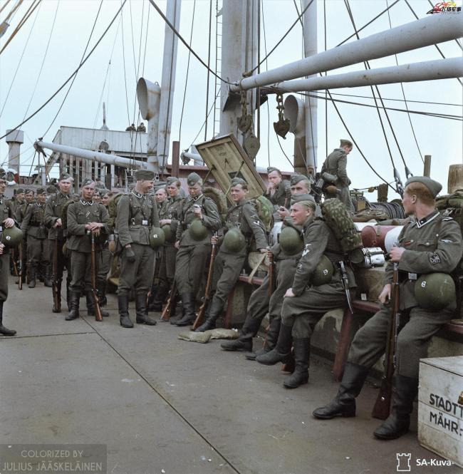老照片:二战时期的芬兰军队