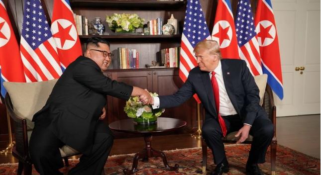 川普:在金正恩领导下 朝鲜将成经济强国