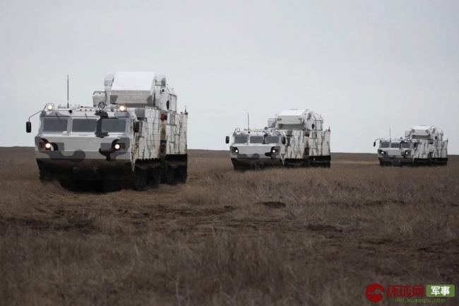 征战北极!俄最新道尔防空系统进行实弹训练