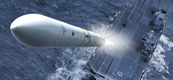 辽宁舰近防炮每分钟万发 但防空火力仍不及美欧航母