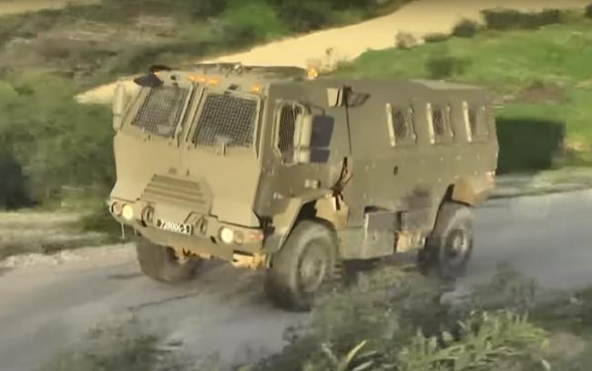 以色列最新防雷伏击车原型车曝光