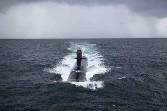 巴海军公布印潜艇型号被巴落后一代潜艇发现