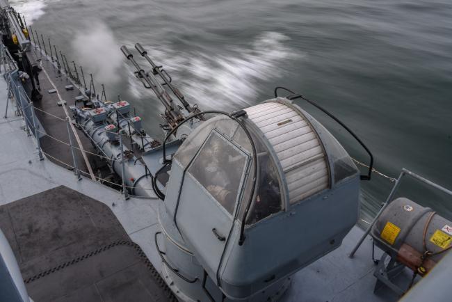 波兰海军在俄飞地海岸附近大规模演习