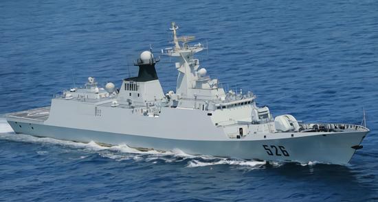 美媒评选世界十佳护卫舰 中国056轻护位列其中