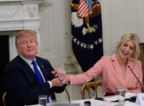 川普和女儿伊万卡闹不和?白宫回应