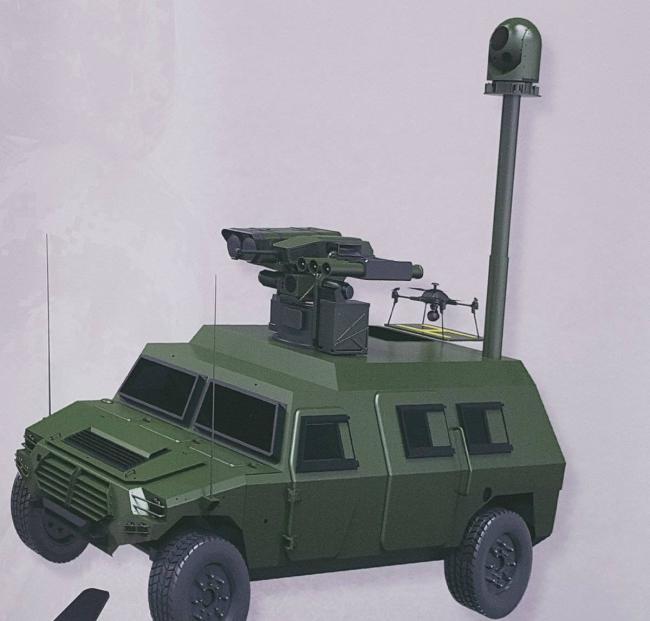中国武器亮相伊拉克防展 这一导弹最抢眼
