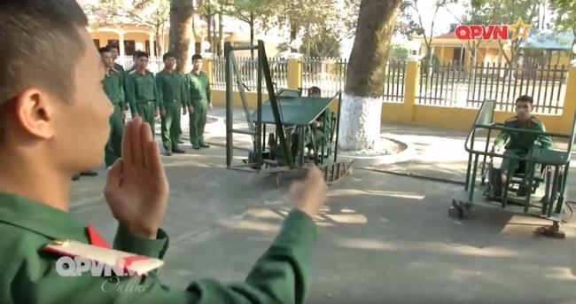 越南坦克兵训练科目和解放军很像
