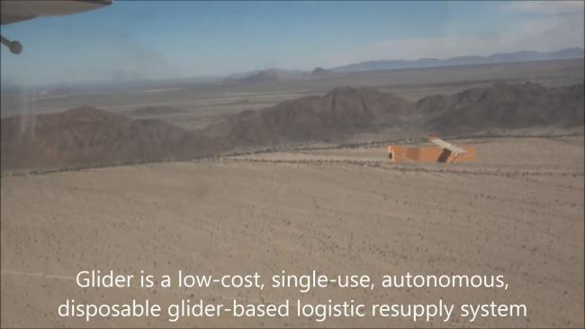 美军滑翔后勤无人机亮相 造型方正很特别