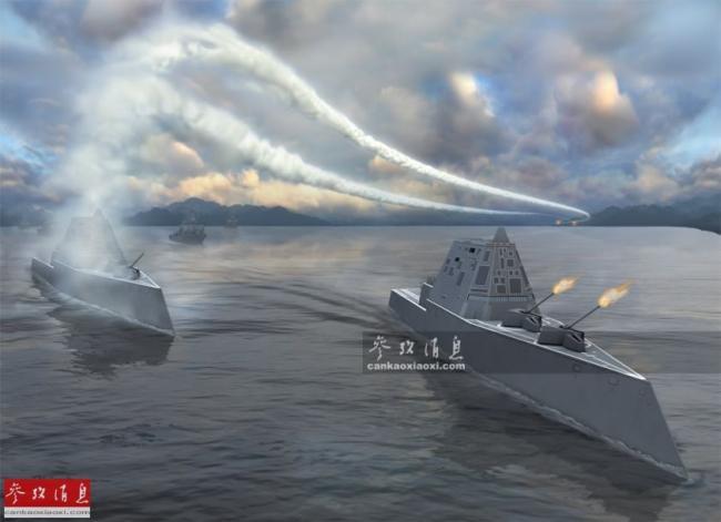 第三艘将完工!美军曝科幻战舰建造细节