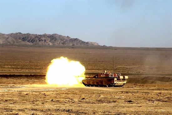 99A坦克里面有多先进?大屏幕自动化新兵也能打优秀
