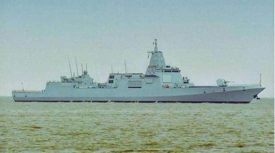 日本也造万吨大驱性能有多强 与中国055舰差距明显
