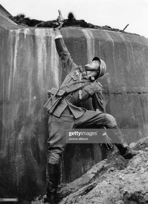 德式摆拍:二战德军突击训练