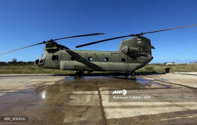 利比亚内战:米格21空袭的黎波里机场