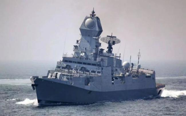 """为中国海军""""庆生""""的印度隐身驱逐舰究竟是什么来头"""