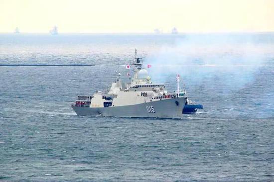 越南派2艘最先进战舰参加中国阅舰式 背后有何考量