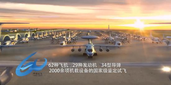 中国试飞院60年成就:试飞62款飞机 助歼20放心飚高速
