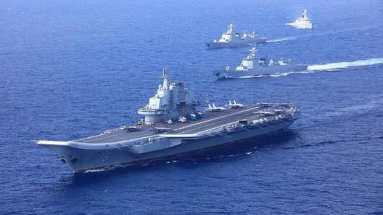 辽宁舰航母编队战力强大 为何还要带一艘056护卫舰