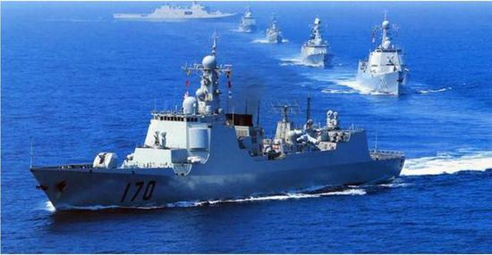 这是中国海军最强舰队 实力规模超任何欧洲国家海军