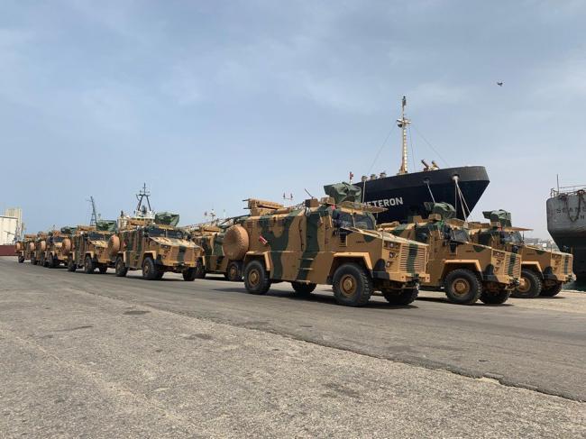 土耳其向利比亞團結政府提供大批裝甲車