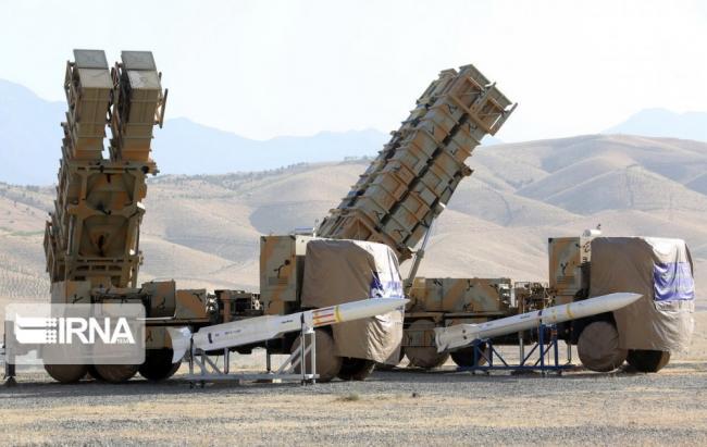 伊朗展示最新国产防空导弹 有效射程45公里