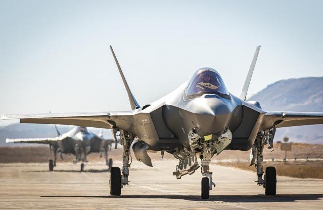 以色列新接收两架美F-35隐形战斗机