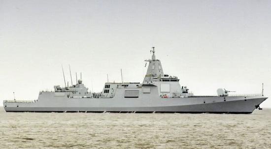 世界最強戰艦︰055大驅排第4阿利伯克艦第5