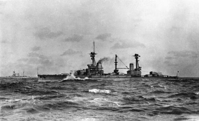 主炮塔最多战列舰 英国阿金科特号