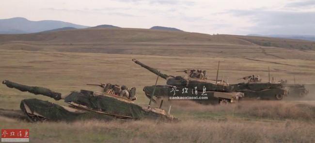 坦克钻地术!美M1A2坦克练战地伏击打法