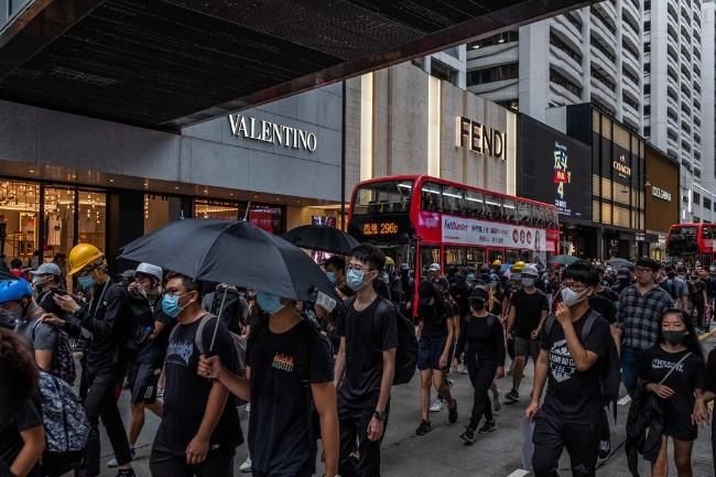 香港 成为卷入美中贸易战角力的一张牌
