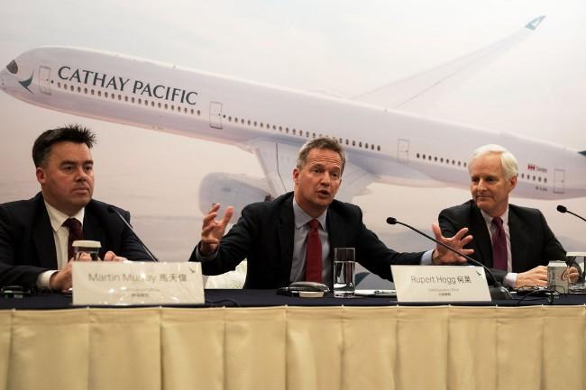 国泰航空CEO辞职说明了什么?