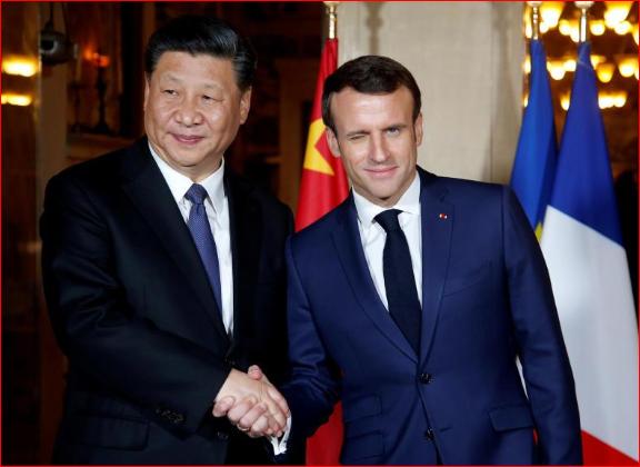 """马克龙要与北京""""坦率""""讨论一下香港"""