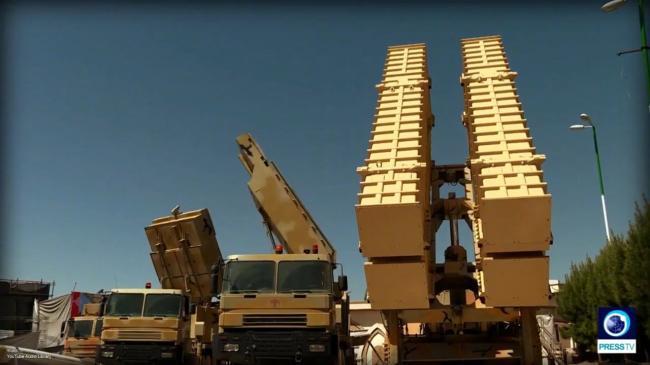 伊朗展示Bavar373远程地空导弹武器系统
