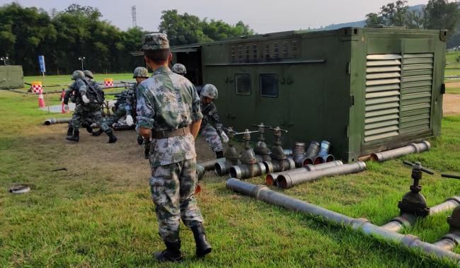 联勤保障部队罕见展示拳头装备