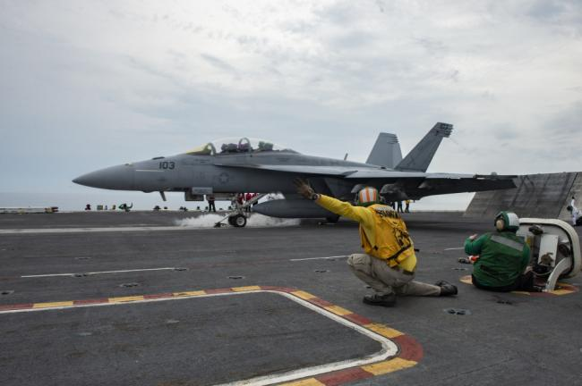 美航母大西洋演练 优化舰队响应速度