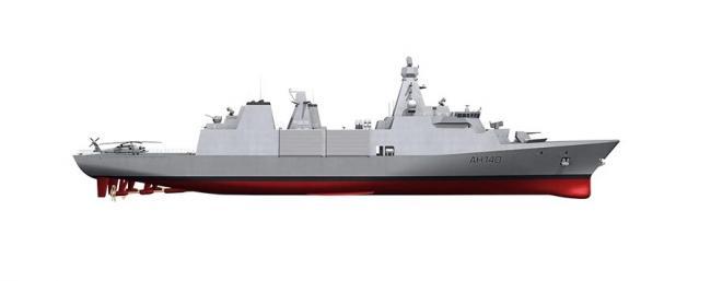 英国下一代31型升级护卫舰舰型确定
