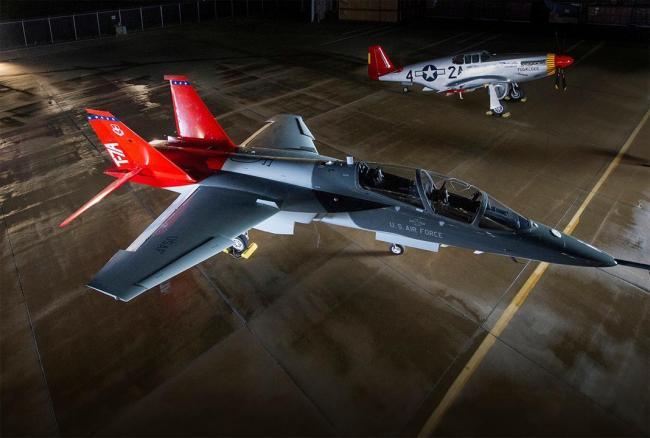 美空军采购新型教练机 编号为T-7A